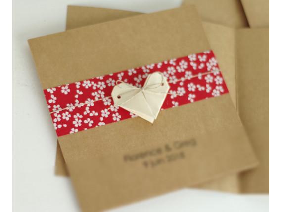 faire-part-de-mariage-naissance-bapteme-carte-double-kraft-15x15-cm-coeur-en-origami-bandeau-en-papier-japonais
