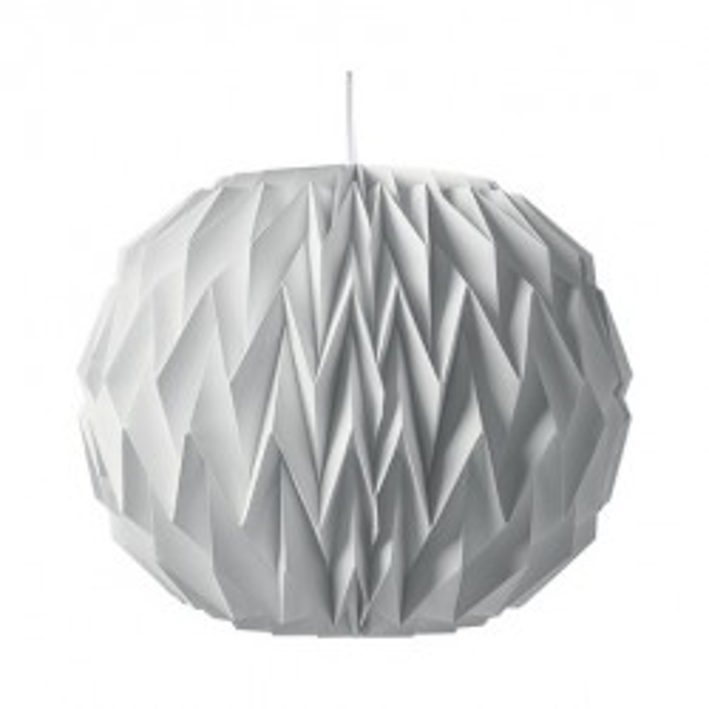 lampion boule rond lanterne décoration blanche origami mariage baptême