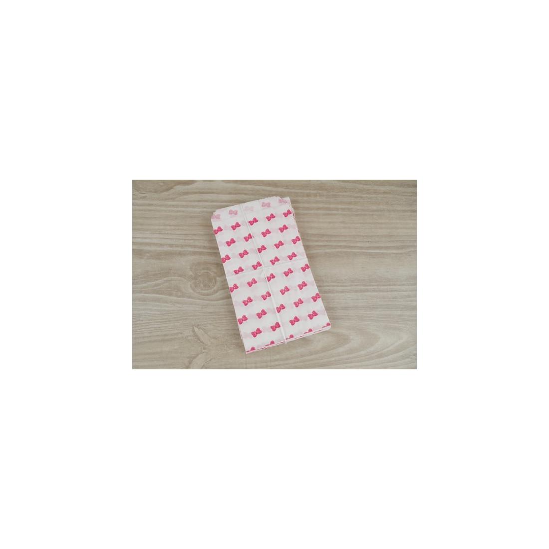 sachets cadeaux noeud rouge lot de 10 pochettes en papier blanc 9 x15 cm pour bijoux dragees. Black Bedroom Furniture Sets. Home Design Ideas